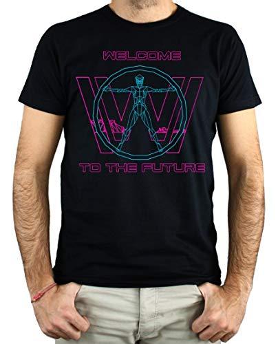 PLANETACAMISETA Camiseta Hombre - Unisex Westworld