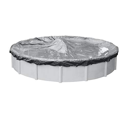 Robelle 3324-4 Platinum Winter Pool Cover for Round Above Ground Swimming Pools, 24-ft. Round Pool