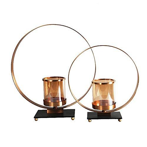 Huisdier Bowl 2 Stukken van Europese Smeedijzeren Kandelaar Retro Bruiloft Creatieve Ambachten Thuis Decoraties Kat Gift, Free size, Goud