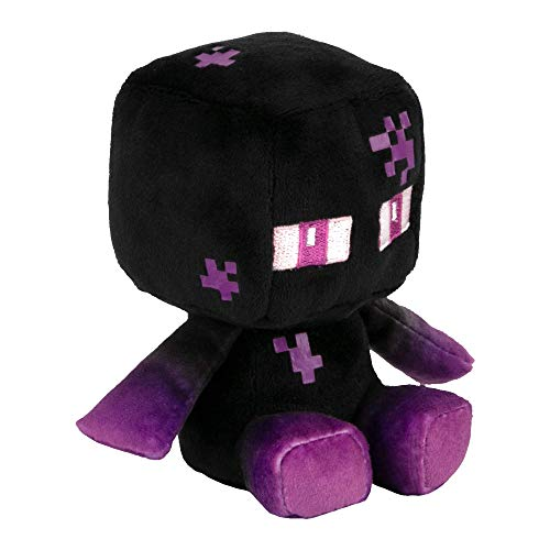 JINX 10927 Minecraft Mini Crafter Teleporting Enderman, 14 cm Plüsch
