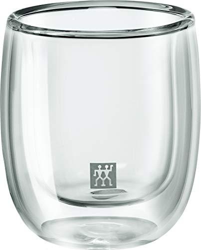 Zwilling® Sorrento Doppelwandiges Glas, Espresso 80ml, 2-er Set