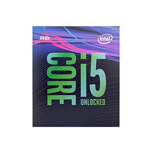 Intel Core processor. CPU 4,60 GHz zwart