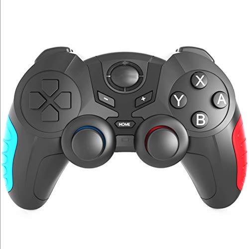 Pro Mando Inalámbrico para Switch/Lite, Bluetooth Gamepad Compatible con Nintendo Switch/Lite/Steam, PC (Cable) Juego Pro Mando