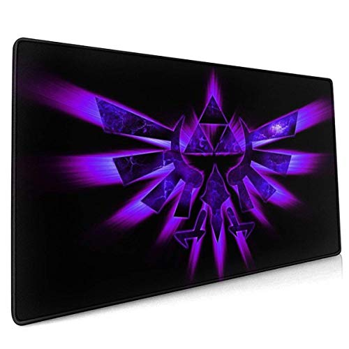 Le-END of Ze-Lda Extended Gaming Mouse Pad Thick Large Computer Keyboard Mousepad Mouse Mat One Size