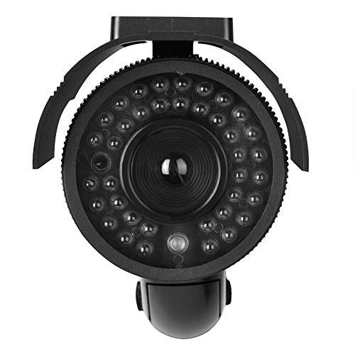 Câmera manequim, Câmera de vídeo simulada com domo de segurança doméstica sem fio Câmera de vigilância externa interna (baterias não incluídas)