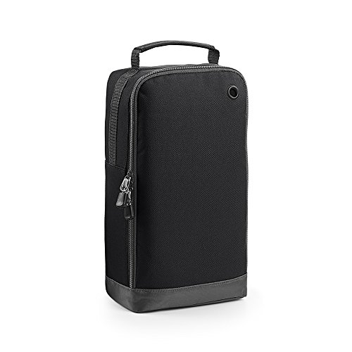 BagBase Schuh-Tasche, 8 Liter (Einheitsgröße) (Schwarz)