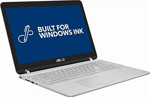 "ASUS 15.6"" Q504UA-BI5T26 2-in-1 Touchscreen FHD 1080p Laptop PC, 7th Intel Core i5-7200u, 12GB DDR4 SDRAM, 1TB HDD, Built-in fingerprint reader, Windows Ink Capable Display, Backlit Keyboard, Windows"