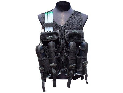 Gen X Global GXG Paintball Lightweight Vest Black