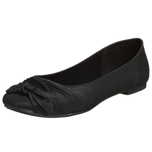 Rocket Dog Women's Memories Ballet Flat,Black,6.5 M US