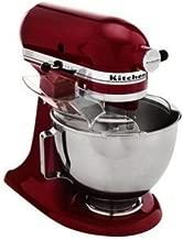 KitchenAid 4.5 Quart Tilt Head Stand Mixer, Gloss Cinnamon Dark Red Color