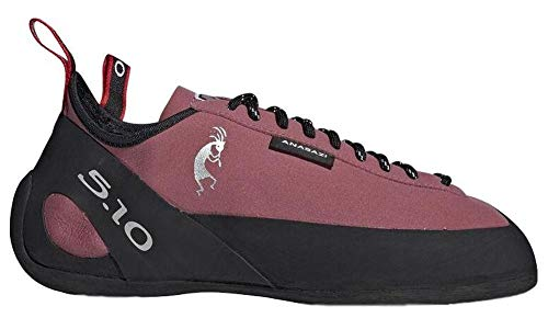 Five Ten Anasazi Lace Climbing Shoe - Men's Trace Maroon/Black/Core White 9