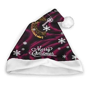 Chrono Trigger - Time Travel Dial Plush Christmas Hat Xmas Beanie Party Holiday Santa Hat