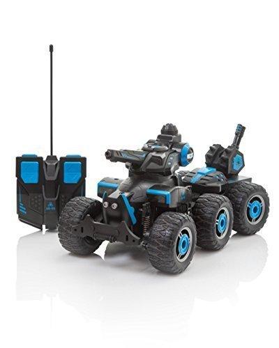 Tanque de control remoto que rocía agua, radio control eléctrico RC Car Boys Girls Toys, dispara agua desde la torreta