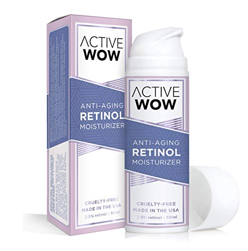 Retinol Cream for Face - Anti Aging Cream Deep Moisturizer, Wrinkle Cream for Face & Eyes, 2.5% Retinol Complex