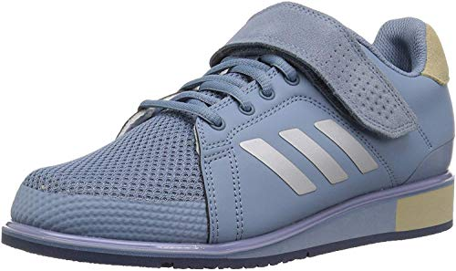 adidas Men's Power Perfect III. Cross Trainer, raw Grey/Metallic Silver/raw Gold, 10 M US