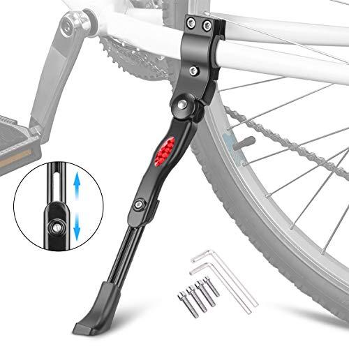 Braoses Fahrradständer Mountainbike für 24 26 27 28 Zoll, Aluminiumlegierung Fahrrad Ständer mit Anti-Rutsch Gummifuß, Höhenverstellbar Bike Stand für MTB Rennrad Kinderfahrrad Klapprad und Fahrräder