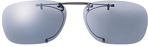 SWANS(スワンズ) 偏光 サングラス メガネにつける クリップオン 跳ね上げタイプ SCP-4