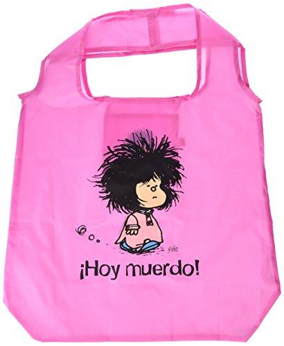 Bolsa plegable Mafalda ¡Hoy muerdo! (BOLSA PLEGABLES)