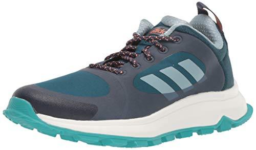 adidas Women's Response Trail X Running Shoe, Trace Blue/ash Grey/tech Mineral, 10 M US