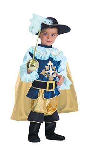 Dress Up America Ensemble de costumes pour enfants mousquetaire de luxe