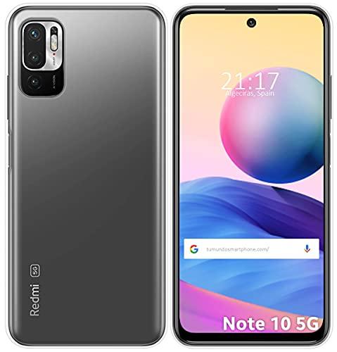 Funda Silicona Gel TPU Transparente para Xiaomi Redmi Note 10 5G / Poco M3 Pro 5G