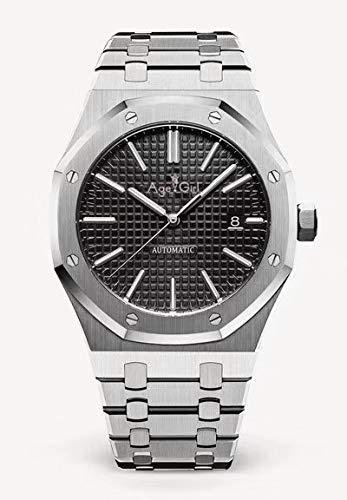 GFDSA Automatische horloges Luxe merk Herenhorloge Roestvrij staal Rose Goud Zwart Blauw Automatisch Mechanisch Saffierglas Achterkant Doorkijkhorloges