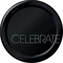 8-Count Round Paper Dinner Plates, Classic Celebrations