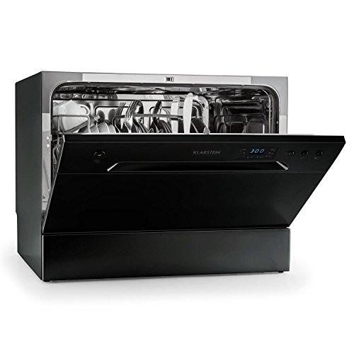 Klarstein Amazonia 6 Spülmaschine Tischgeschirrspüler (freistehend, A+, 174 kWh/Jahr, 55 cm breit, 49 dB leise, 6 Maßgedecke, 6...