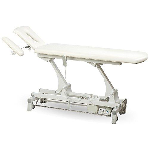 00S807 weiss elektrische Massageliege Physiotherapie