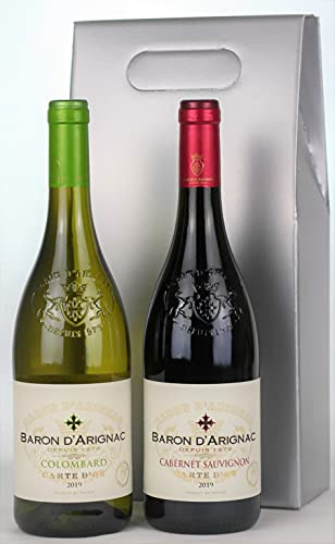 French Twins - Le Grand Baron Red and White Wine Gift Pack