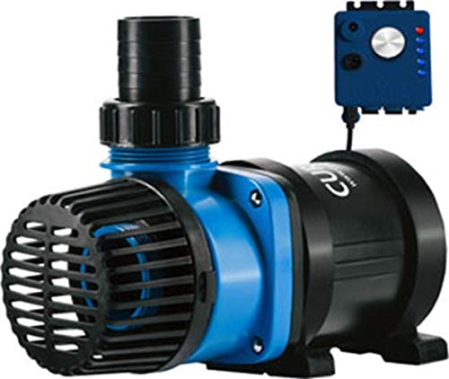 Current USA eFlux DC Flow Pump with Flow Control 3170 GPH | Ultra Quiet, Submerisble or External Installation | Safe for Saltwater & Freshwater Systems