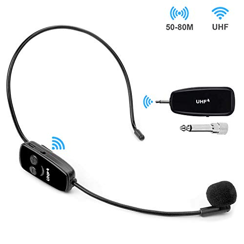 BelonLink Micrófono inalámbrico, 2.4 G UHF Wireless