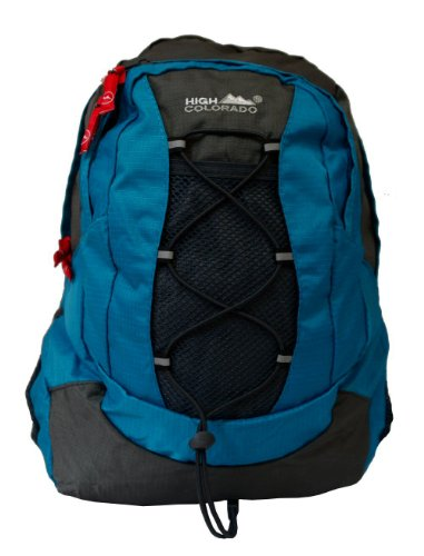High Colorado Kinder Rucksack QUEST 15 petrol-grau