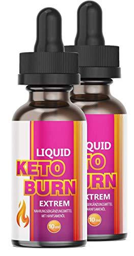 NEU: Saint Nutrition® Keto Burn Liquid – EXTREM schnell – für Männer und Frauen – mit hochwertige natürliche Inhaltsstoffe – STARK – ERFOLG – STOFFWECHSEL (2x)