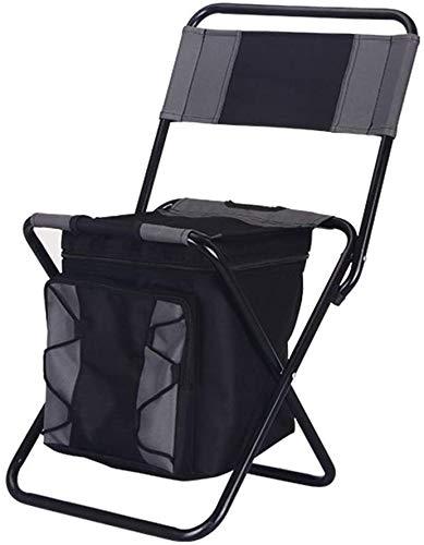 Empty Außen Klappstuhl tragbarer Stuhl Angelselbstfahr Tour einfacher Mazar Multifunktions- Kühler Isolationspicknickbeutel Hocker