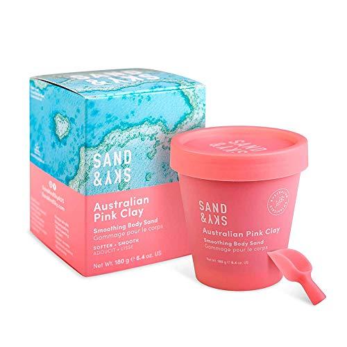 Sand & Sky - Körperpeeling für geschmeidige Haut - mit rosa Tonerde aus Australien - Bio-Qualität