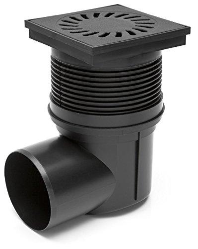 MKK - 18002-009 - DN75 Hofablauf Gartenablauf Kellerablauf Badablauf Duschablauf Ablauf Siphon Gusseisen NEPTUNE