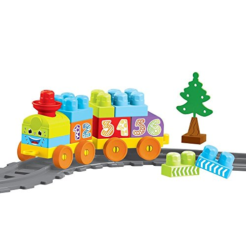 Dolu Children's Building Blocks Train Set