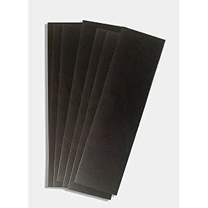 "Anti Tarnish Strips Tabs 2"" x 7 "" Revolutionary Breakthrough Technology Silver Tarnish Strips - 10 Pack - Tarnish Free Storage - protect jewelry, flatware, holloware, electronics & Musical Equipment"