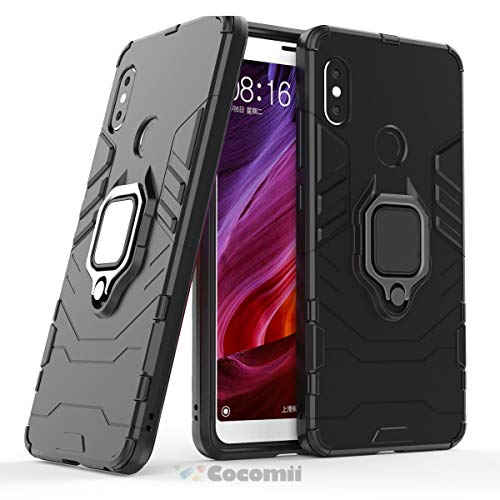 Cocomii Black Panther Armor Xiaomi Redmi Note 5/Note 5 Pro Case, Slim Thin Matte Vertical &...