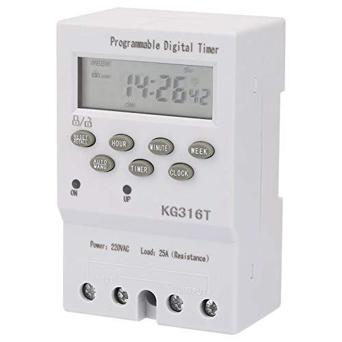 Interruptores de tiempo de microcomputadora LCD Temporizadores de control de microordenador digital Mini interruptores de control de tiempo Interruptor de tiempo programable para equipos