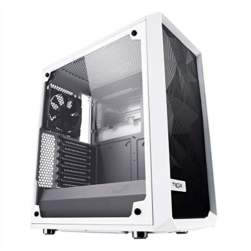 Fractal Design Meshify C White Tempered Glass Light TG