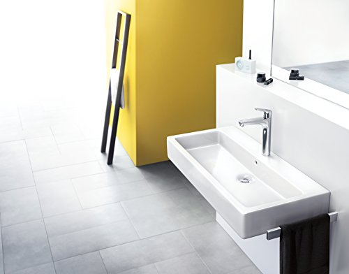 Hansgrohe – Waschbeckenarmatur, mit Ablaufgarnitur, QuickClean, EcoSmart, Chrom, Serie Focus 190 - 3