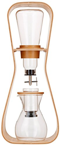 iwaki(イワキ) 耐熱ガラス SNOWTOP ウォータードリップ コーヒーサーバー 「Uhuru」 440ml K8635-M