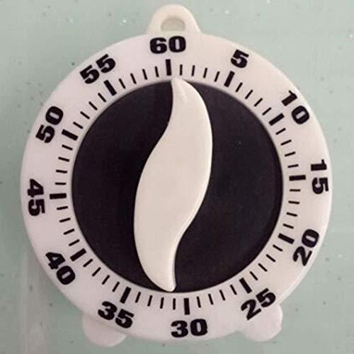 HAOHAO Mechanische Küchentimer, 60 Minuten An der Kette Verzögerungszeit Erinnerung Countdown-Wecker, Küchenzeit Eieruhr Kurzzeitmesser Kochuhr Kurzzeitwecker