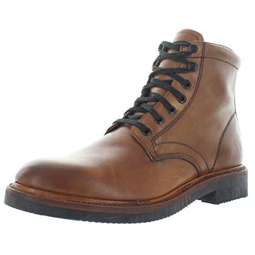 FRYE Men's Gordon LACE UP Combat Boot, cognac, 10.5M M US