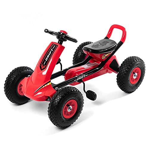 Cochecitos, Bicicletas de cuatro ruedas, Bicicletas, Bicicletas de ejercicio educativo, Adecuado para niños mayores de 3 años, bicicleta roja