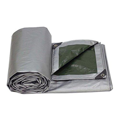 LQq-Bâches Bâche imperméable de bâches de PE, 180G / m²- protègent votre tente, plat, bois de chauffage, ou toit pour le camping en plein air (taille : 5M*8M)