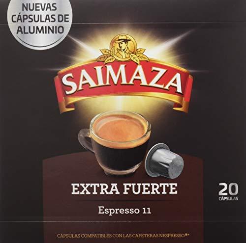 Café Saimaza Espresso Extra Fuerte - 20 Cápsulas
