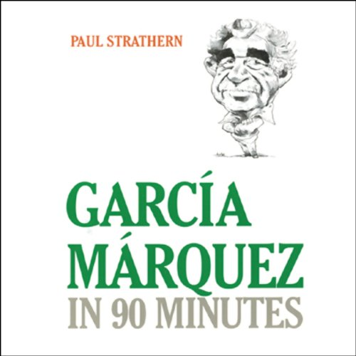 Garcia Marquez in 90 Minutes  audiobook cover art